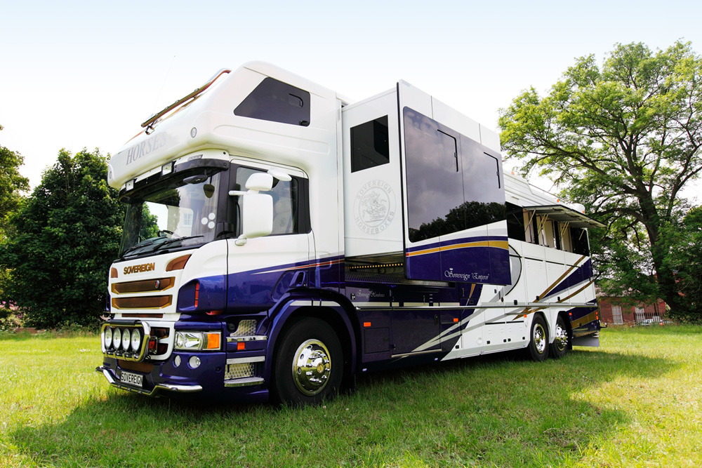 E-Plex digital switching technology on Sovereign Horsebox
